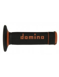 Puños Domino Off Road X-Treme Negro - Naranja