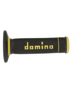 Puños Domino Off Road X-Treme Negro - Amarillo