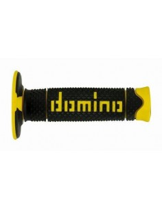 Puños Domino DSH Off Road Negro - Amarillo