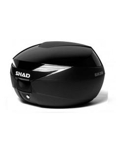 Tapa Negro Metal Baul Shad SH39