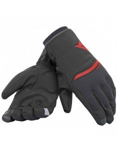 Guantes Dainese Plaza 2 D-Dry Negros / Rojos