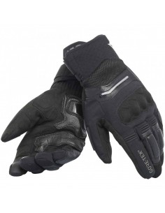 Guantes Dainese Solarys Short Gore-Tex Negros
