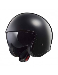 Casco LS2 OF599 Spitfire Solid | Negro