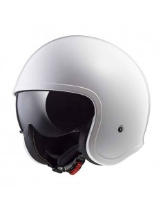 Casco LS2 OF599 Spitfire Solid | Blanco