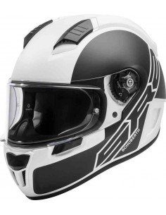 Casco Schuberth SR2 Traction | Blanco y negro