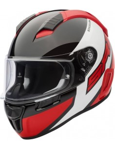Casco Schuberth SR2 Wildcard | Rojo y blanco