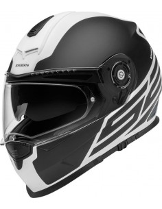 Casco Schuberth S2 Sport Traction | Negro y blanco