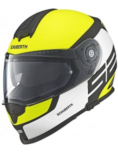 Casco Schuberth S2 Sport Elite | Amarillo y blanco