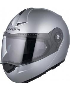 Casco Schuberth C3 Pro Glossy | Plata brillo
