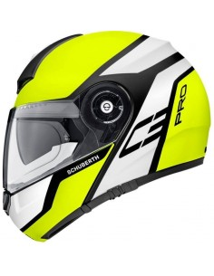 Casco Schuberth C3 Pro Echo | Mate - Amarillo y blanco