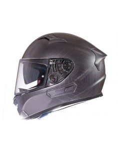 Casco MT Integral KRE SV Solid Titanio brillo