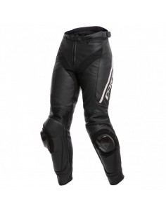Pantalon Dainese Delta 3 Lady Negro / Blanco