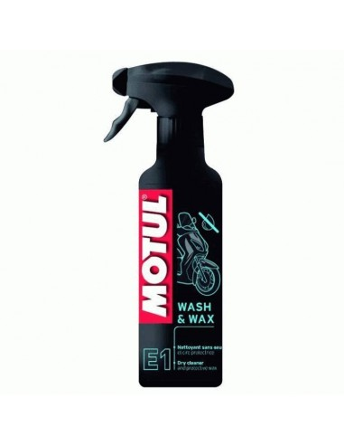Limpia En Seco Y Cera Motul E1 MC Care 400ml