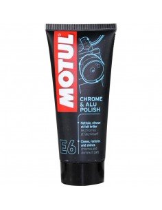 Pulimento Aluminio / Cromo Motul E6 Mc Care 100ml