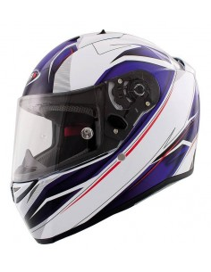 Casco Shiro SH-336 Crown Azul