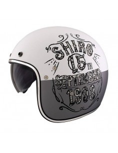 Casco Shiro SH-235 Born Blanco Mate