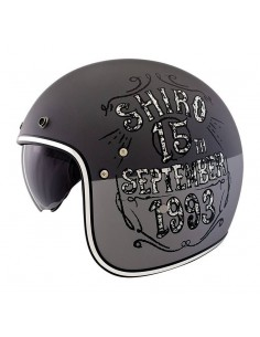 Casco Shiro SH-235 Born Gris Mate