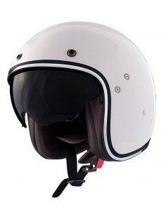 Casco Shiro SH-235 Fiber Blanco