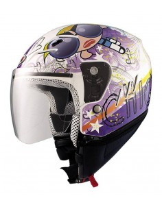 Casco Shiro SH-20 Tres Chic Kids II
