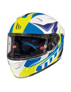 Casco MT KRE Lookout G6 Blanco Perla