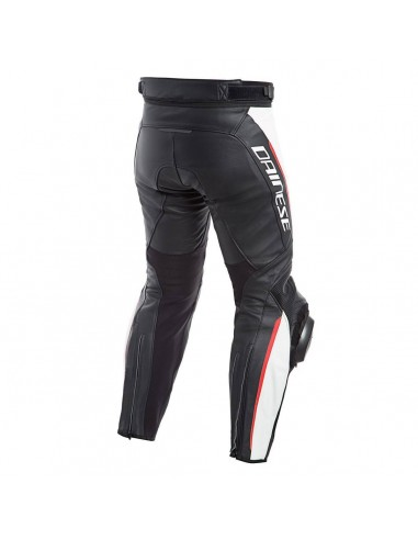 Pantalon Dainese Delta 3 Negro / Blanco / Rojo