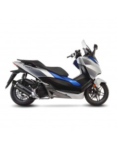 Escape Leovince Nero Honda Forza 125 / Abs (17-18)