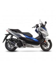 Escape Leovince Nero Catalizado Honda Forza 125 (17-18)
