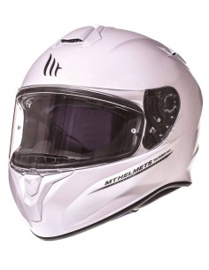 Casco MT Targo Solid | Blanco