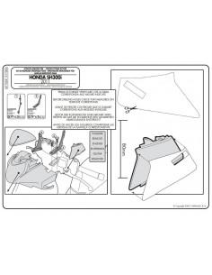 Kit Anclajes Givi A1100A Honda SH 300 (11-14)