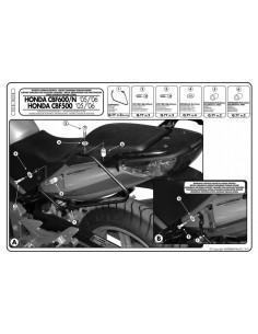 Soporte Alforjas Givi T218 Honda CBF 600 S / N (04-12)