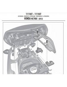 Kit Montaje Givi 1111KIT Honda NC 700 / 750 - S / X (12-15)
