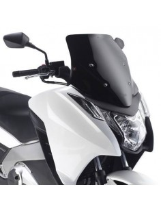 Cúpula Negro Brillo Givi D1109B Honda Integra 700 / 750 (12-17)