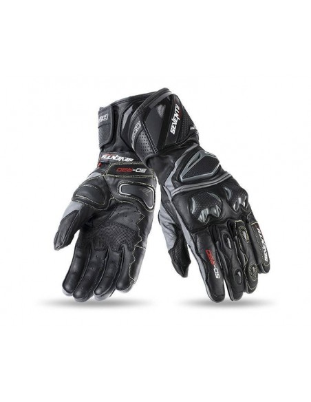 Guantes Seventy Degrees SD-R30 Racing | Negros y gris
