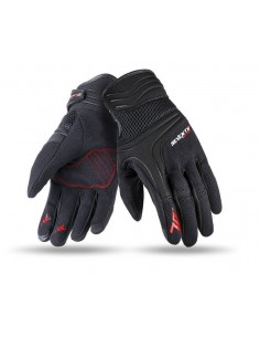 Guantes Seventy Degrees SD-C18 Scooter | Negros y fucsia