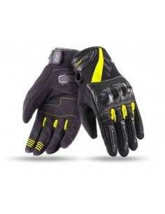 Guantes Seventy Degrees SD-N14 Naked | Negro y amarillo fluor