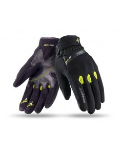 Guantes Seventy Degrees SD-C16 Scooter | Negros y amarillos flupr
