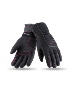 Guantes Mujer Seventy Degrees SD-C29 Urban | Negro y fucsia