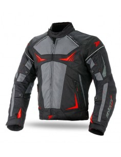 Chaqueta Seventy Degrees SD-JR55 Racing | Negra y roja