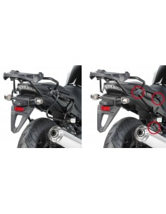 Porta Maletas Lateral Givi PLXR208 Honda CBF 1000 / ST (10-14)
