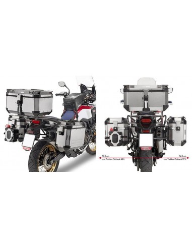 Porta Maletas Lateral Givi PL1144CAM CRF1000L Africa Twin (16-17)