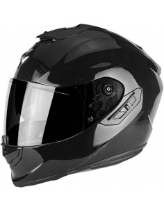 Casco Scorpion Exo-1400 Air Solid - Negro
