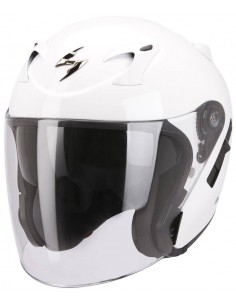 Casco Scorpion Jet 220-Exo Solid - Blanco
