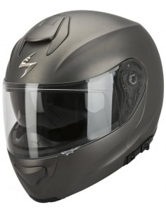 Casco Modular Scorpion Exo-3000 Air Solid - Antracita mate