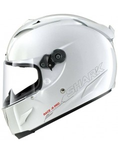 Casco Shark Race-R Pro Blank | Blanco