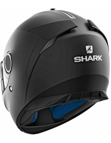 Casco Shark Spartan Blank Mate   Negro