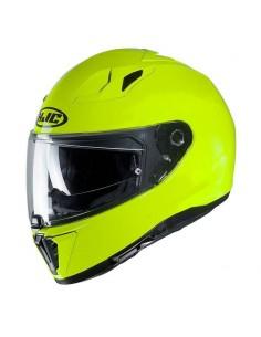Casco HJC i70 Solido Verde fluor