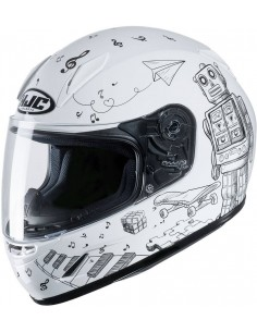 Casco HJC CL-Y Wazo MC10