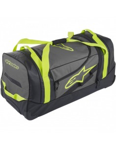 Bolsa de Viaje Alpinestars Komodo | Negra - antracita - amarillo fluor