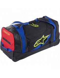 Bolsa de Viaje Alpinestars Komodo | Negro - azul - rojo - amarillo fluor