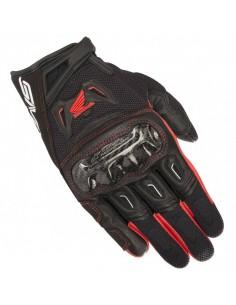 Guantes Alpinestars SMX-2 Air Carbon V2 Honda | Negro y rojo